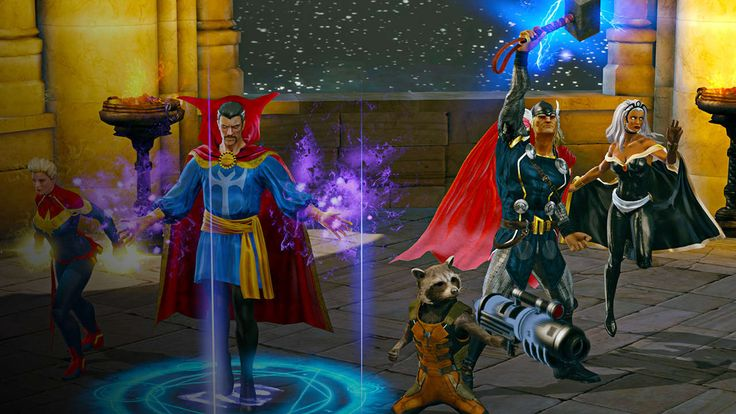 Marvel Heroes Omega - PS4 Deadpool and Thor Gameplay - GameSpot