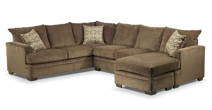 Cornell Upholstery 2 Pc Sectional Leon S 1799 Height
