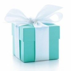 Tiffany Blue Favour Boxes