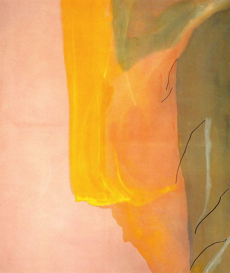 :: Helen Frankenthaler, Spiritualist, 1973 ::