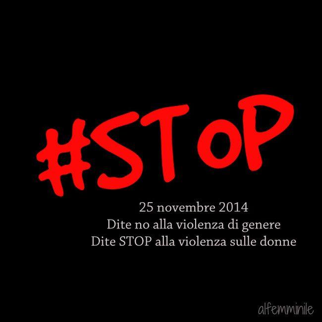 Giornata Internazionale contro la violenza sulle donne: numeri e dati | #stop #StopViolenza