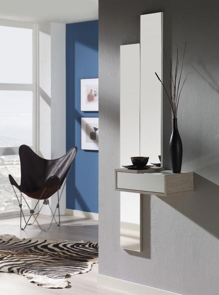 M s de 25 ideas fant sticas sobre espejos recibidor en for Muebles vestibulo moderno
