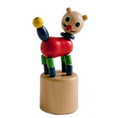 Ανέμη Δακτυλομαριονέτα (push puppet) Γάτα   Sunnyside.gr