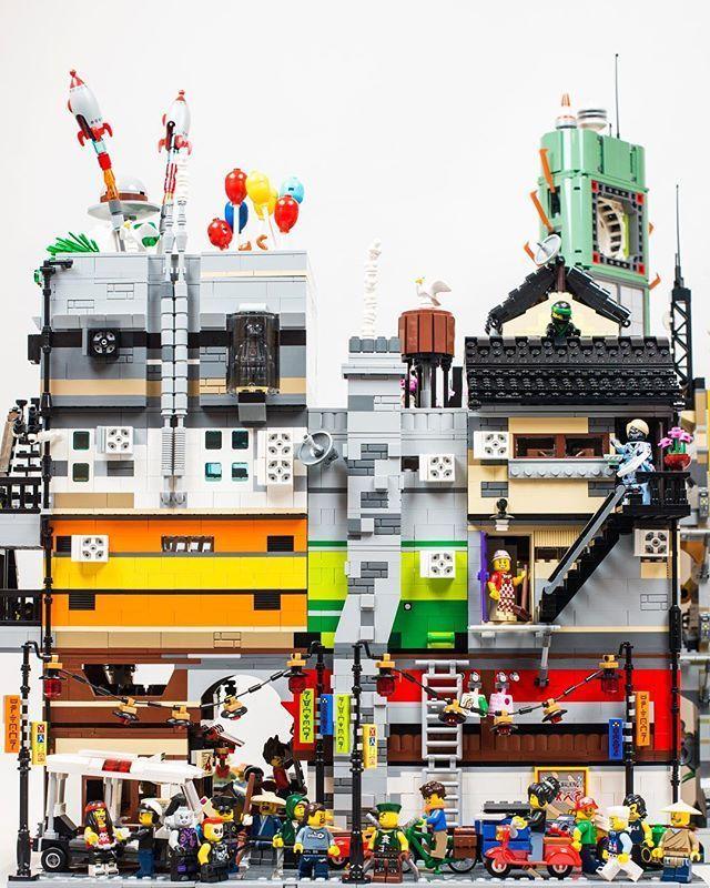 Pin by Evan Judge on Evan | Lego, Lego ninjago city, Lego architecture