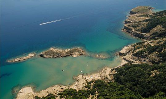 Kvarner & Highlands - island Rab: Lopar: nudist beach Stolac