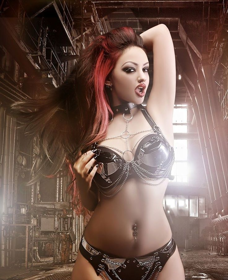 Open gothic erotic photography like