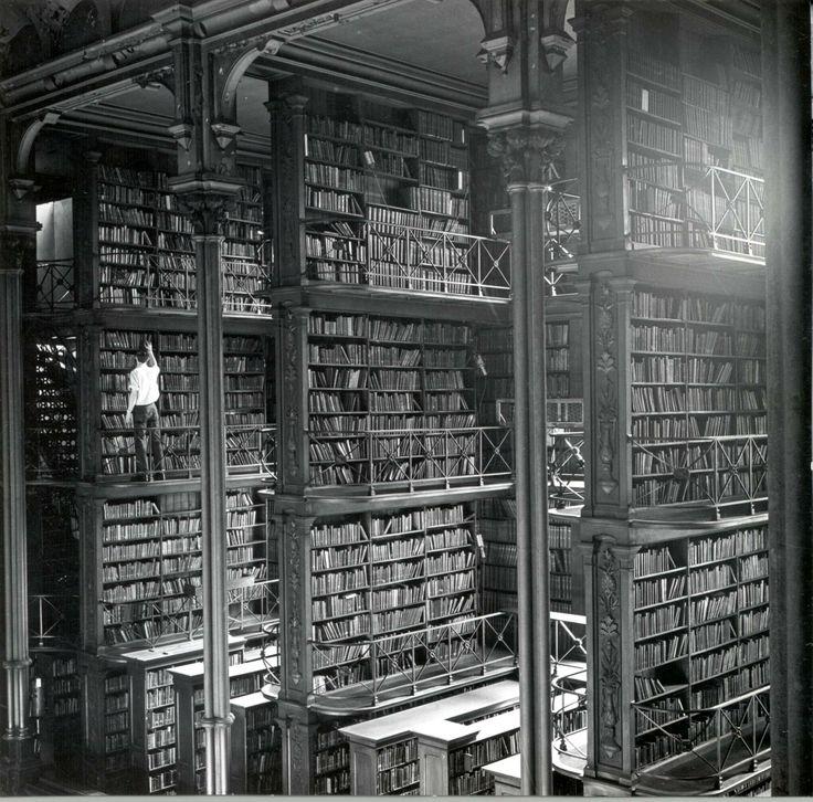 The Vast Hall of The Public Library of Cincinnati