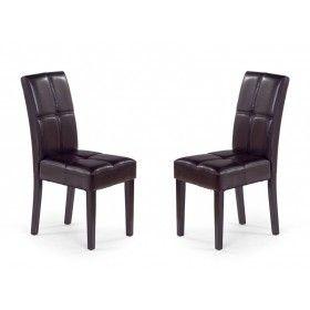 Krzesło Dante wenge zestaw 2 sztuk