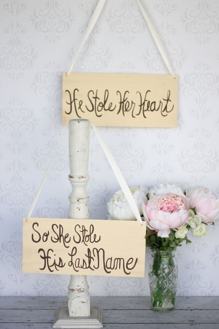 Wedding Sign Photo Prop Shabby Chic Rustic Decor by braggingbags, $49.99
