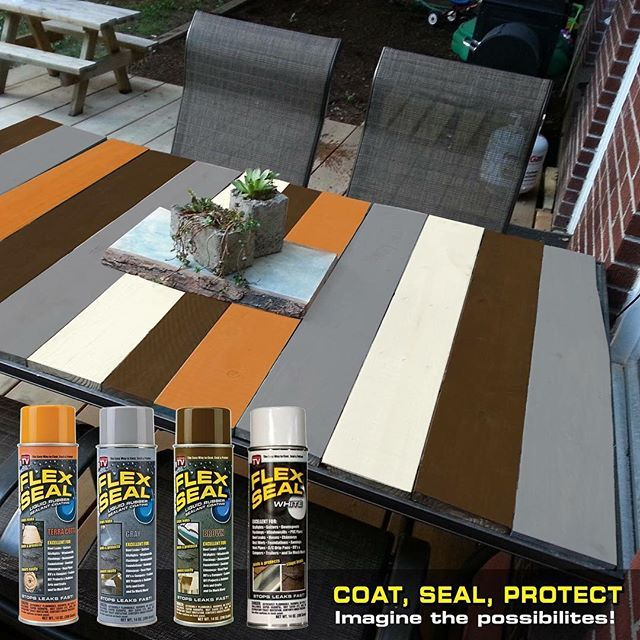 Take Your Patio To The Next Level With Flex Seal Colors!