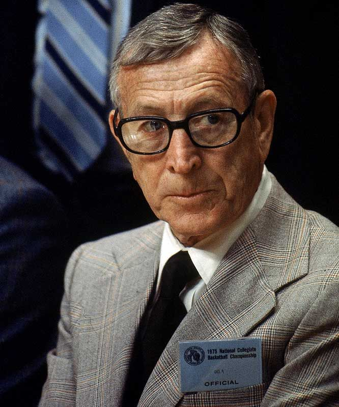 John Wooden, amazing person, coach, and husband.