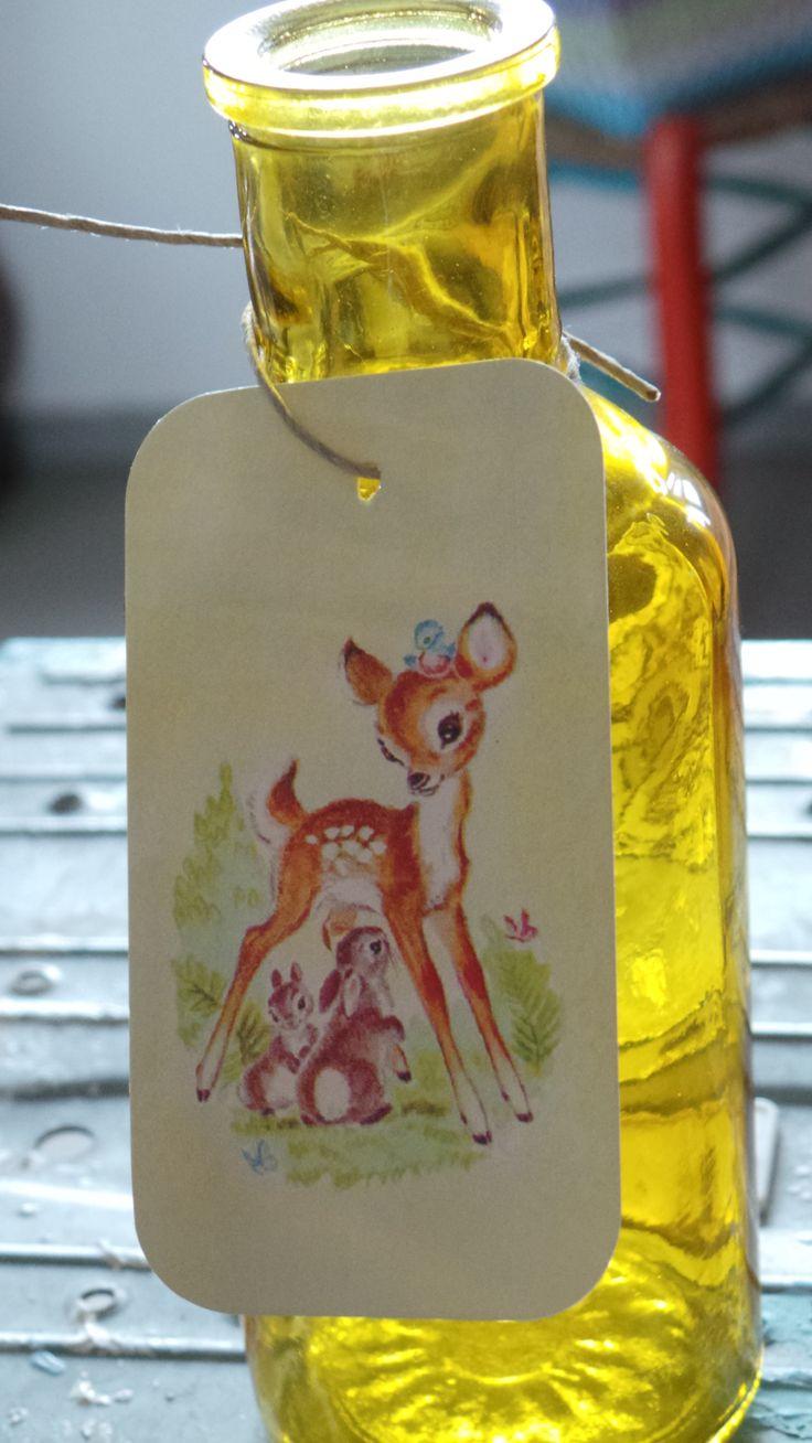 Cute labels Bambi