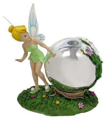 Interdesign linus small jewelry box clear disney tinkerbell and ps - Tinkerbell statues ...