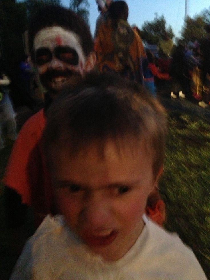 Halloween celebration at Montessori-on-a-Hill, Kensington, Johannesburg.  Photographs by Rita Doherty.