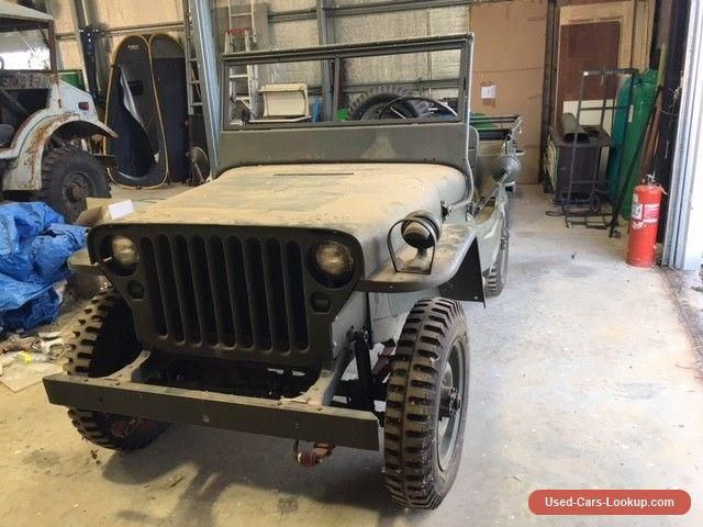 Car For Sale Ford Jeep Wwii 1942 Willys Jeep