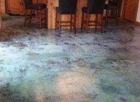 How To Acid Staining Bat Floors Directcolors In 2018 Flooring Pinterest Stain And Bats