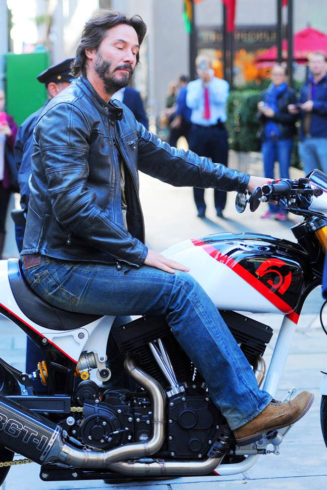 Keanu Reeves on his motorcycle at The Today Show and Henry Cavill walking his dog|Lainey Gossip Entertainment Update