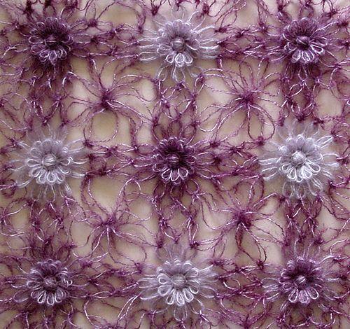 loom flower + solomon's knot tutorial