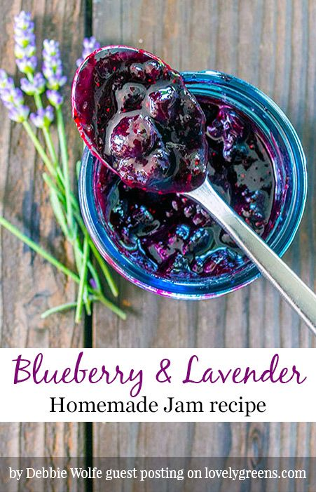 Blueberry & Lavender Jam Recipe
