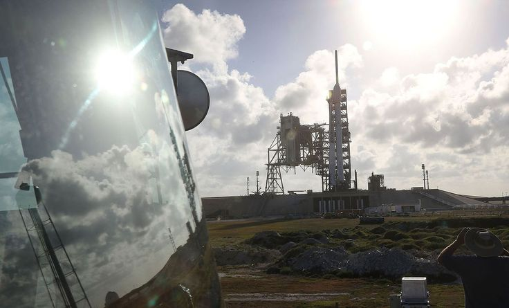 Elon Musk's Space Exploration Technologies Corp. launched a sensitive mission for the U.S. military and landed the rocket's booster on land, marking the company's fifth successful mission of 2017.