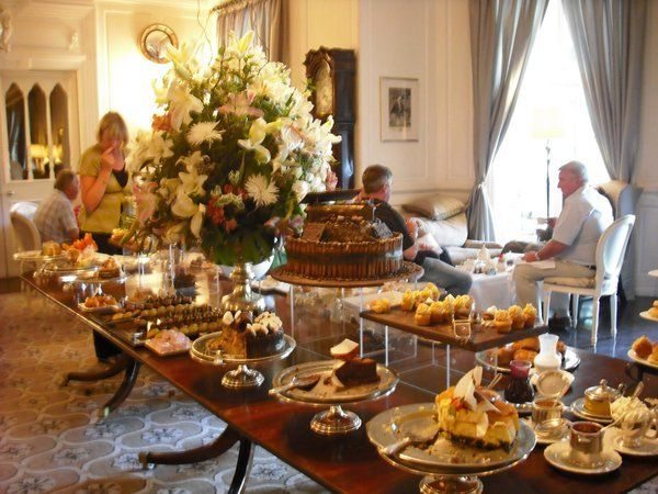 Mount Nelson, Cape Town -Voted one of the best High Tea's in the world. I LOVED it. Their red velvet cupcakes are to die for