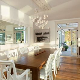 Dining Big mirror Design Ideas, Pictures, Remodel and Decor