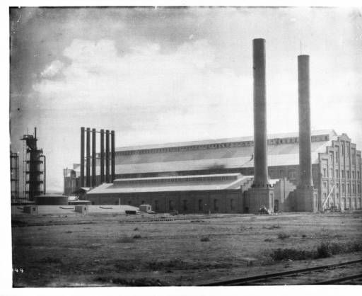 Sugar Beet factory, Oxnard, California, ca.1910 :: California Historical Society Collection, 1860-1960 | way before my time, but very cool historical artifact of my hometown!