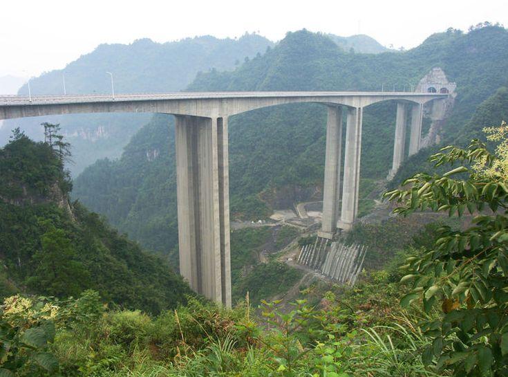 Aizhai Beam Bridge - HighestBridges.com