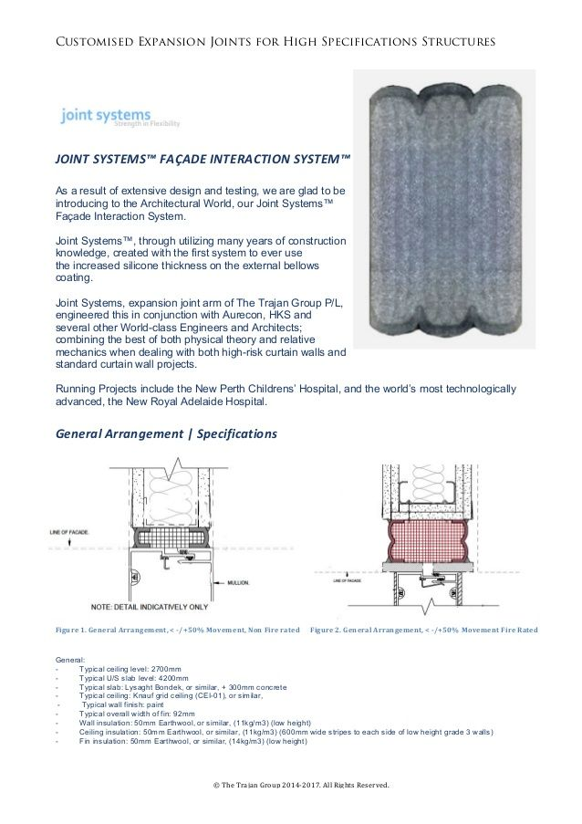 Joint Systems Facade Expansion Joint Specs Expansion Joint The Expanse Facade