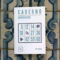 Caderno Quadriculado by Serrote.