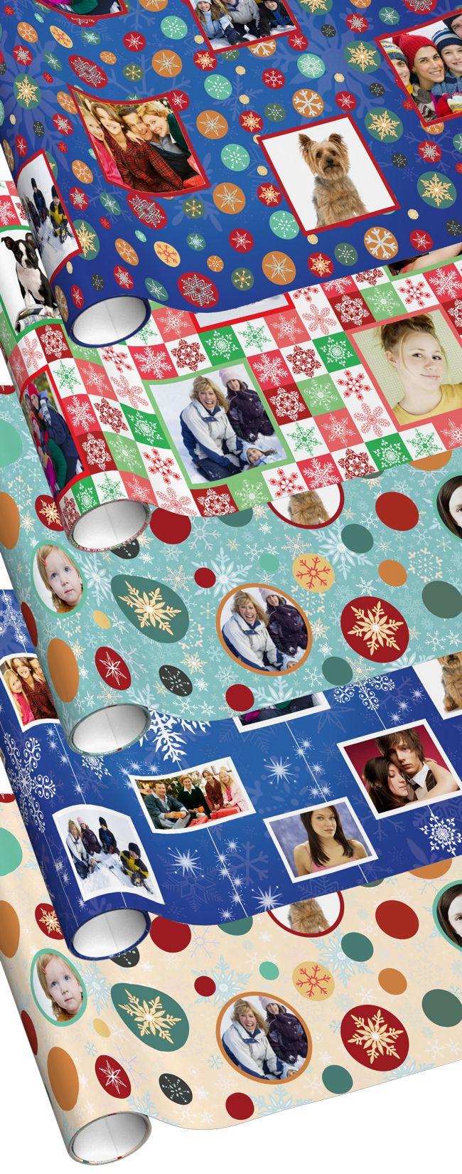 Family Photo Christmas / Holiday Season Wrapping Paper