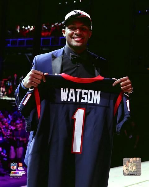 Deshaun Watson. Houston Texans 2017 NFL first round draft pick.