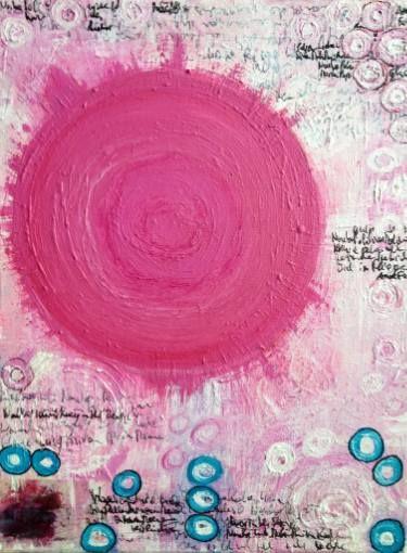 "Saatchi Art Artist Sina Muscarina; Painting, ""Lhasa Rising"" #art"