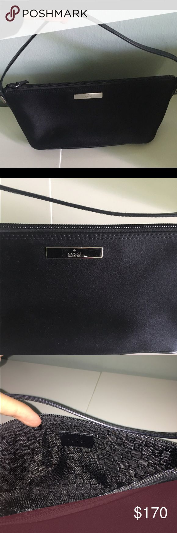 Gucci evening bag Black Gucci evening bag. Perfect condition! Gucci Bags Mini Bags