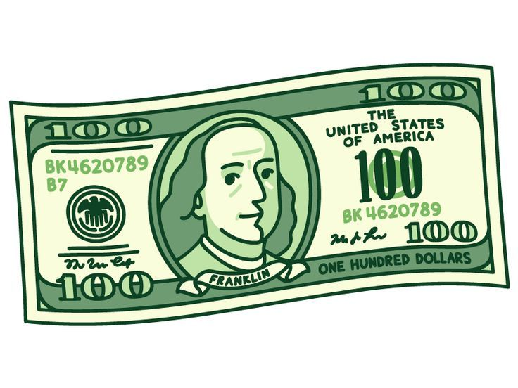 100 Dollar Bill – #bill #dollar #dollarbills