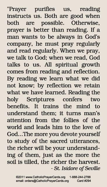 Prayer to St. Isidore, patron saint of the Internet