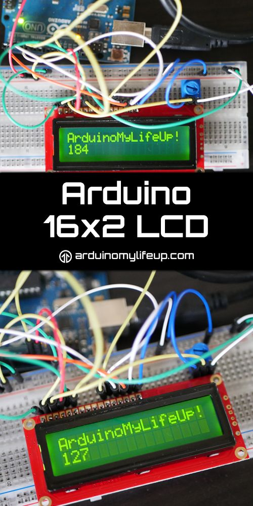 The Arduino 16x2 LCD is perfect for displaying small amounts of data or messages. It's pretty easy to hook up to the Arduino with the hardest part being just knowing where to place wires.