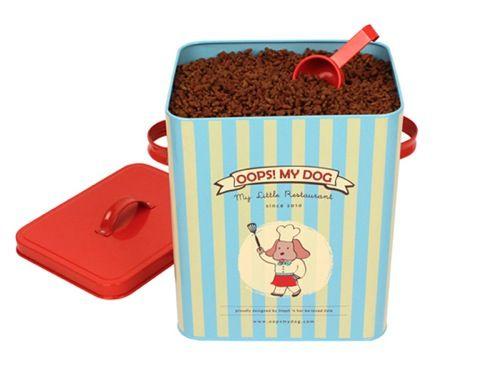 Contenedor para pienso de perros. Encuéntralo en www.dogsaffaire.com , la mejor selección de productos para perro.  #accesorios para perro #complementos para perro