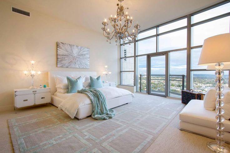 Szép hálószoba nagyszerű kilátással