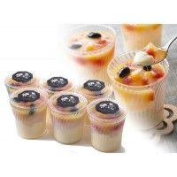【同梱・代引き不可】ホシフルーツ フルーツみつ豆の葛入り パッションプリン 75090 | ROOM - my favorites