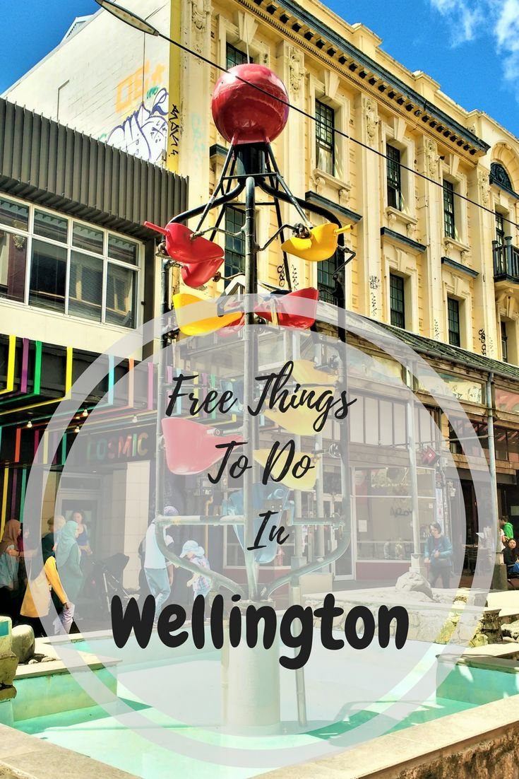 Things to do in Wellington, New Zealand if you're travelling on a budget.