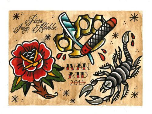 corazon con dagas tattoo - Buscar con Google