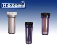 SISTEMA DE FILTRACION DE 10 PULGADAS PARA CAFETERAS Y MAQUINA DE HIELO  El sistema de filtración H2OZONI incluye:  Un vaso con cartucho de sedimentos que sirve para retener todos los sólidos y suciedad del agua.