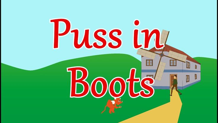Puss in Boots - Animated fairy tale for toddlers and children - bedtime stories for kids
