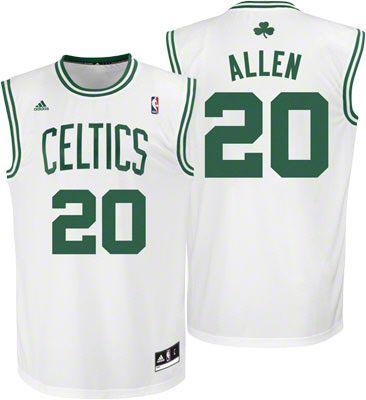 ea9994225 boston celtics ray allen 20 green swingman jersey sale