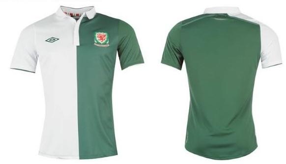 Wales Umbro Away Shirt 2012/13