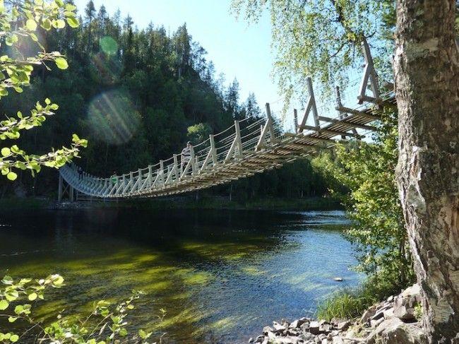 Karhunkierros, la ruta del oso en Laponia Finland