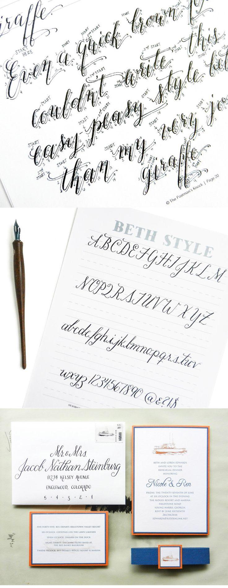 Beth Style Free Calligraphy Worksheet ( https://thepostmansknock.com/beth-style-free-calligraphy-worksheet/ )