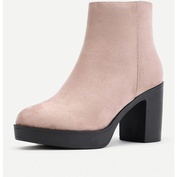 Side Zipper Chelsea Ankle Boots ❤ liked on Polyvore featuring shoes, boots, ankle booties, side zip booties, side zipper boots, chelsea bootie, chelsea ankle boots and chelsea boots