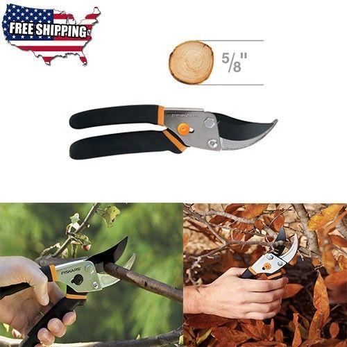 Bypass-Pruning-Shears-Traditional-Steel-Garden-Tools-amp-Equipment-Fiskars-New